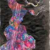 arbre rose ludivine pradines artiste